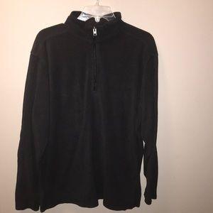 Columbia Fleece Pullover Black Men's XL